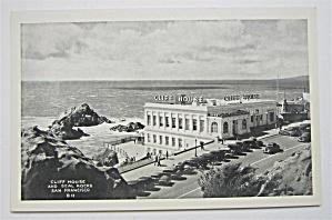Cliff House And Seal Rocks, San Francisco Postcard  (Image1)