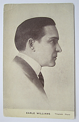 Earle Williams Postcard (Silent Film Star) (Image1)
