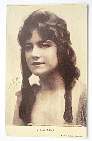 Viola Dana Postcard (American Film Actress) (Image1)
