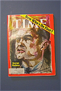 Time Magazine - March 27, 1972 - George Wallace