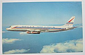 Delta DC-8 Jetliner Postcard  (Image1)