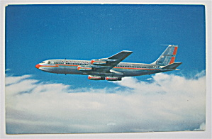 American Airlines 707 Jet Flagship Airplane Postcard  (Image1)