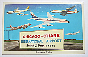 Chicago-O'Hare International Airport Postcard  (Image1)