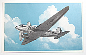 Pennsylvania Central Douglas Airliner Postcard  (Image1)