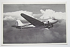 Pennsylvania Central Douglas Airliner Postcard  (Image1)