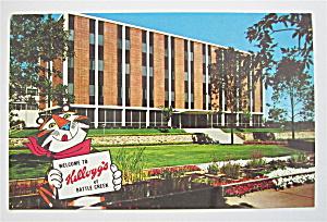 Kellogg's Company, Battle Creek, Michigan Postcard (Image1)