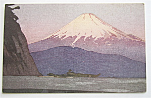 Snow Capped Fujiyama Postcard  (Image1)