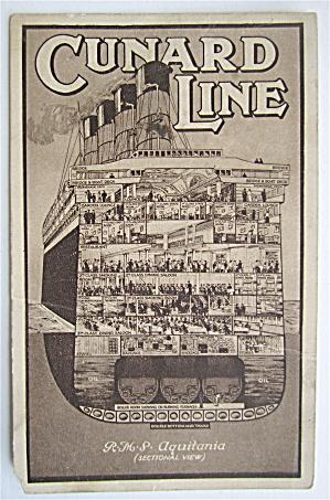 Cunard Line Postcard  (Image1)