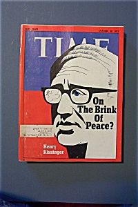 Time Magazine - October 30, 1972 - Henry Kissinger