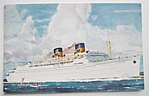 Matson Lines Luxury Liner Lurline Postcard  (Image1)