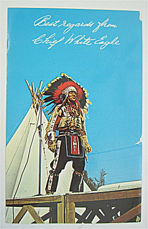 Chief White Eagle Postcard  (Image1)
