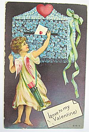 Love To My Valentine Postcard  (Image1)
