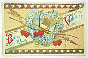 Be My Valentine Postcard  (Image1)