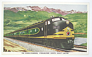 Northern Pacific North Coast Limited Postcard  (Image1)