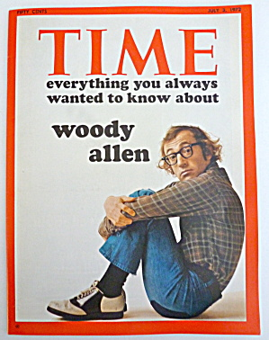 Time Magazine-july 3, 1972-woody Allen