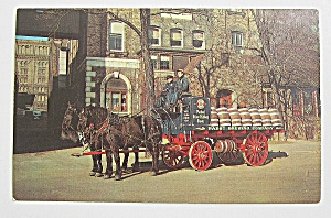 Pabst Brewing Company Wagon Delivering Beer