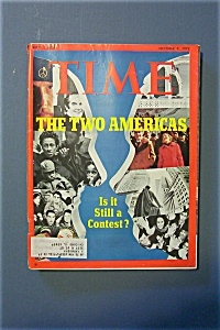 Time Magazine - October 2, 1972 - The Two Americas