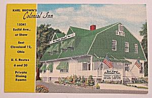 Karl Brown's Colonial Inn Postcard (Image1)