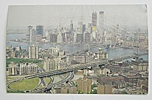Aerial View Of Lower Manhattan & Brooklyn Buildings (Image1)