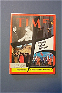 Time Magazine - March 6, 1972 - Nixon's China Odyssey