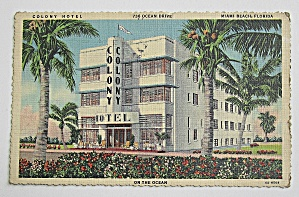 Colony Hotel Miami Beach, Florida (Image1)