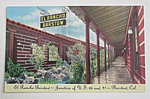 El Rancho Barstow, Barstow, California (Image1)