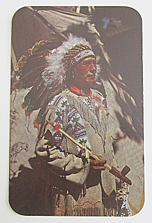 Chief Running Horse Postcard