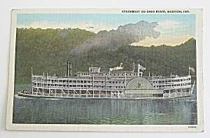 Steamboat On The Ohio River (Image1)