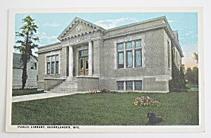 Public Library, Rhinelander, Wisconsin (Image1)
