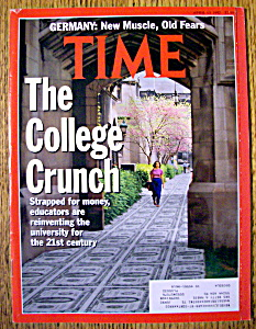 Time Magazine-april 13, 1992-the College Crunch