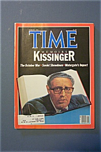 Time Magazine - March 1, 1982 - Kissinger Memoirs