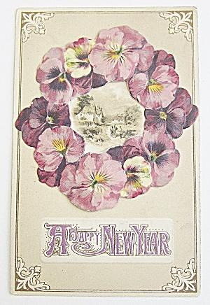 Happy New Year Postcard  (Image1)