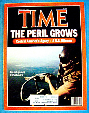 Time Magazine-march 22, 1982-the Peril Grows