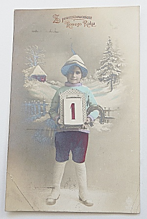 Boy Holding A Calendar (Image1)