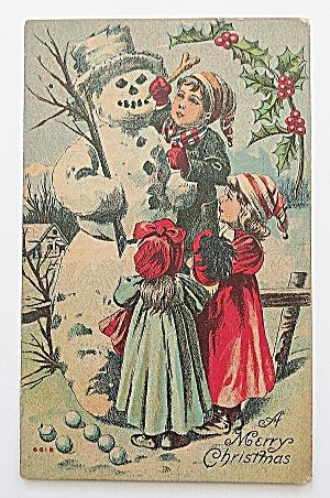 Kids Building Snowman (Image1)