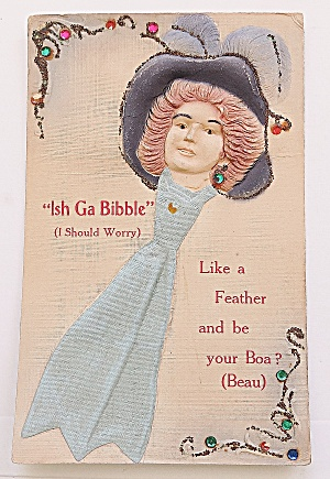 Beautiful Woman In Hat Ish Ga Bibble  (Image1)