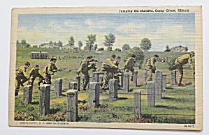 Men Jumping The Hurdles, Camp Grant, Illinois (Image1)