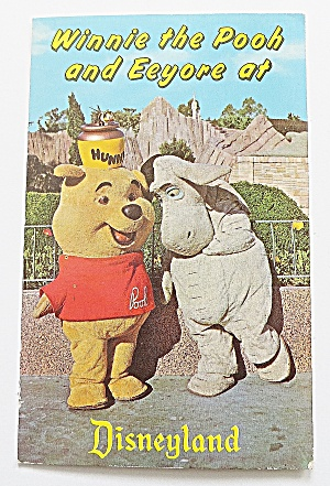 Winnie The Pooh & Eeyore At Disneyland (Image1)