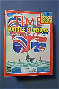 Time Magazine - April 19, 1982 - Battle Stations (Image1)
