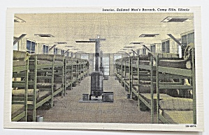 Interior Enlisted Men's Barrack, Camp Ellis, Illinois (Image1)