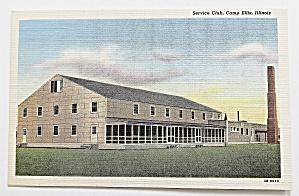 Service Club, Camp Ellis, Illinois (Image1)