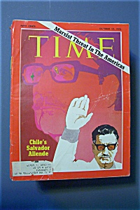Time Magazine - Oct 19, 1970 - Chile's Salvador Allende