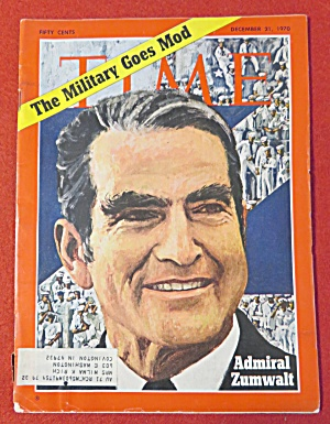 Time Magazine - December 21, 1970 - Admiral Zumwalt
