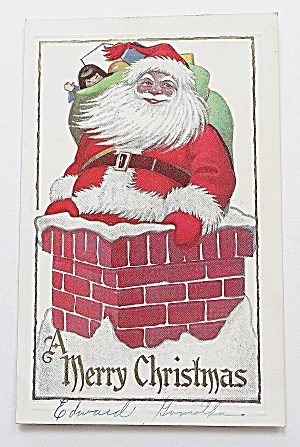 Santa Claus With Bag Of Toys (Image1)
