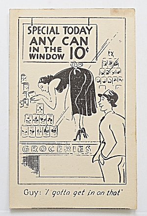 Man Looking At Woman In Window (Image1)