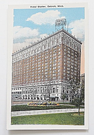 Hotel Statler, Detroit, Michigan