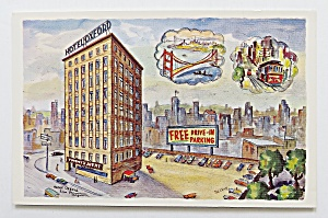 Hotel Oxford Postcard  (Image1)