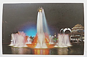 The Solar Fountain At Night, New York World's Fair