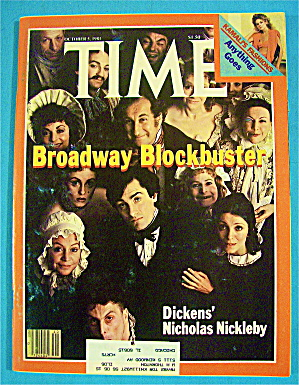 Time Magazine-october 5, 1981-broadway Blockbuster