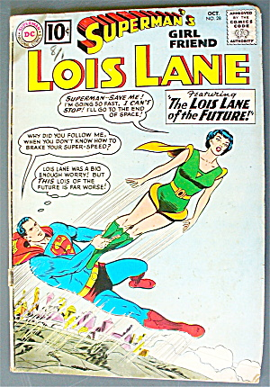 Lois Lane #28 October 1961 The Future Lois Lane